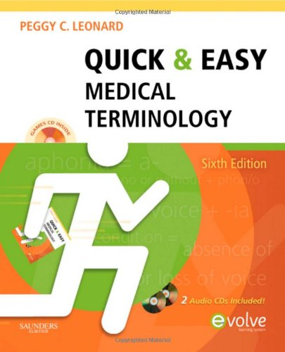 Quick and Easy Medical Terminology  6th 2011 edition cover