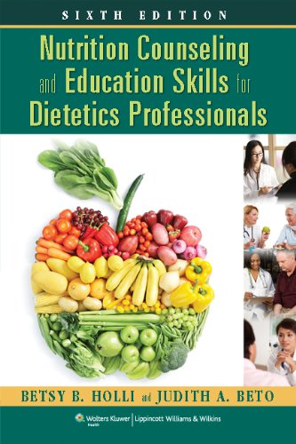Nutrition Counseling and Education Skills for Dietetics Professionals  6th 2014 (Revised) 9781451120387 Front Cover