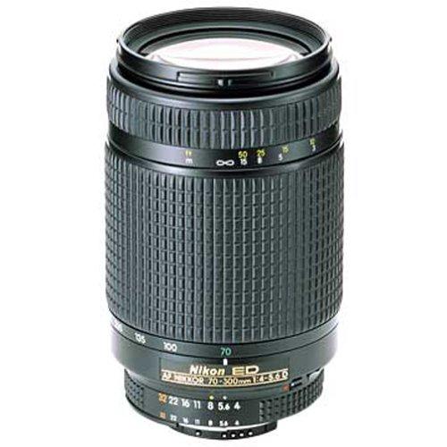 Nikon 70-300mm f/4-5.6D ED Auto Focus Nikkor SLR Camera Lens product image