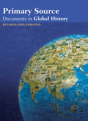 Primary Source Documents in Global History 2nd 2009 edition cover