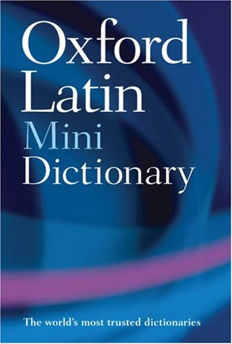 Oxford Latin Mini Dictionary  2nd 2008 edition cover
