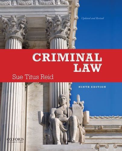 Criminal Law  9th 2012 edition cover