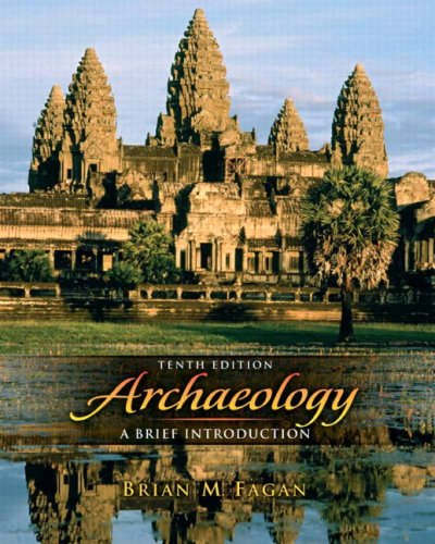 Archaeology A Brief indrocution 10th 2009 edition cover