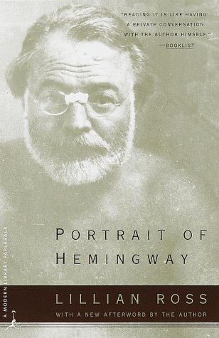 Portrait of Hemingway  N/A edition cover