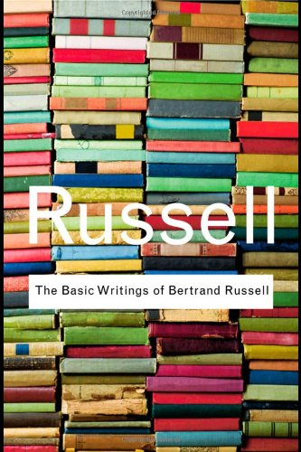 Basic Writings of Bertrand Russell   2009 edition cover