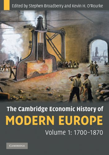 Cambridge Economic History of Modern Europe, 1700-1870   2010 9780521708388 Front Cover