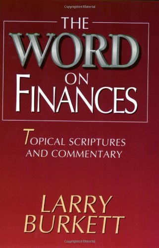 Word on Finances Topical Scriptures and Commentary N/A edition cover
