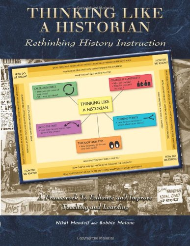 Thinking Like a Historian Rethinking History Instruction N/A edition cover