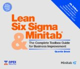 Lean Six Sigma and Minitab: The Complete Toolbox Guide for Business Improvement 4th 0 edition cover