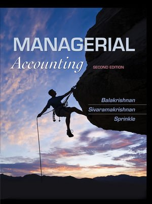 Managerial Accounting  2nd 2012 edition cover