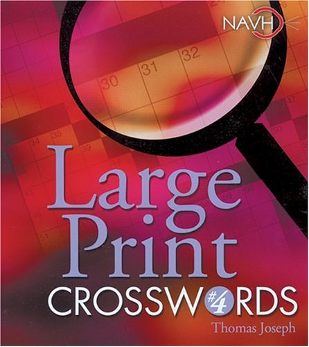 Large Print Crosswords  N/A 9781402712388 Front Cover