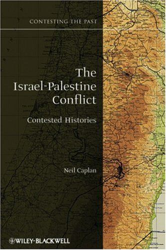 Israel-Palestine Conflict Contested Histories  2009 edition cover