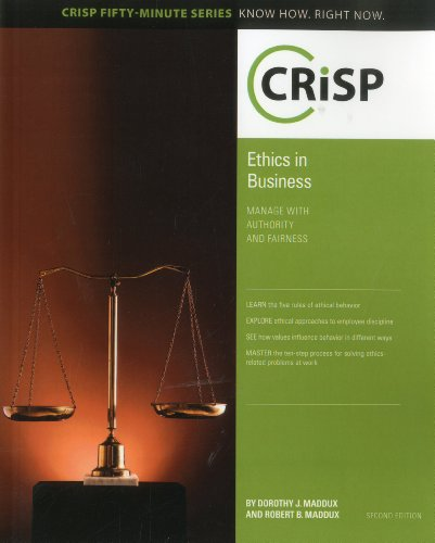 Ethics in Business  2nd 2010 edition cover