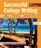Successful College Writing: Skills, Strategies, Learning Styles  2014 edition cover