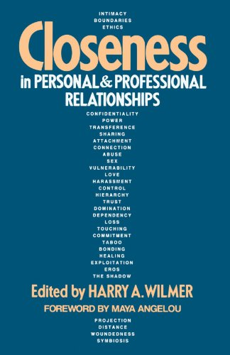 Closeness in Personal and Professional Relationships  N/A 9781570626388 Front Cover