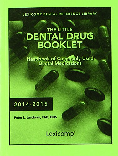 The Little Dental Drug Booklet:   2014 edition cover