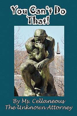 You Can't Do That!  N/A 9781935630388 Front Cover