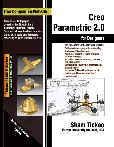 CREO PARAMETRIC 2.0 FOR DESIGN N/A edition cover