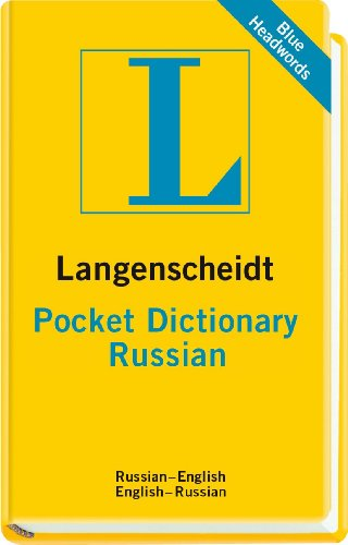 Langenscheidt Pocket Dictionary Russian  N/A edition cover