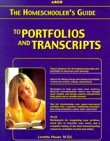 Homeschooler's Guide to Transcripts and Portfolios with CD-ROM  2000 edition cover