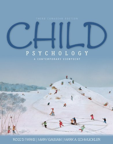 CHILD PSYCHOLOGY >CANADIAN< N/A edition cover