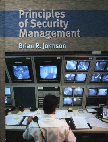 Principles of Security Management   2005 edition cover