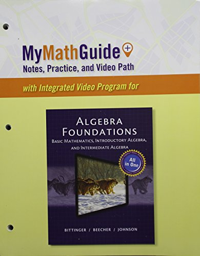 MyMathGuide Notes, Practice, and Video Path  2015 9780133861389 Front Cover