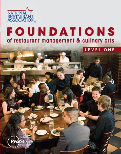 Foundations of Restaurant Management and Culinary Arts Level 1  2011 edition cover