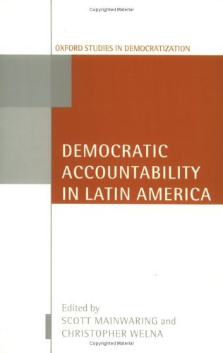 Democratic Accountability in Latin America   2003 9780199256389 Front Cover