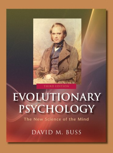 Evolutionary Psychology The New Science of the Mind 3rd 2008 edition cover