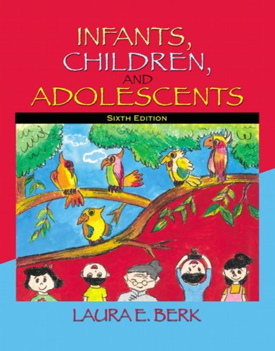 Infants, Children, and Adolescents  6th 2008 edition cover