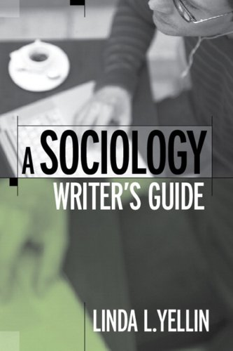 Sociology Writer's Guide   2009 edition cover