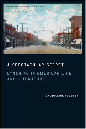 Spectacular Secret Lynching in American Life and Literature  2006 edition cover