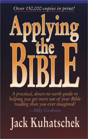 Taking the Guesswork Out of Applying the Bible   1996 edition cover