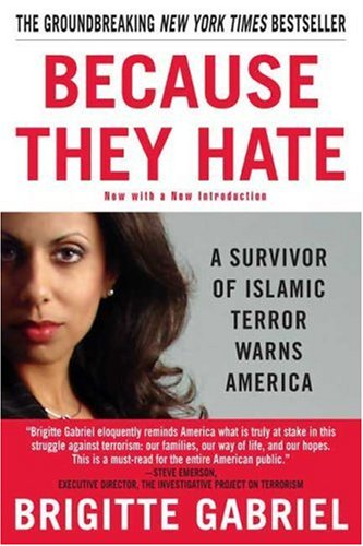 Because They Hate A Survivor of Islamic Terror Warns America  2008 edition cover