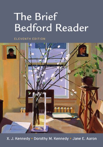 Brief Bedford Reader  11th 2012 edition cover