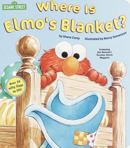 Where Is Elmo's Blanket?   1999 edition cover