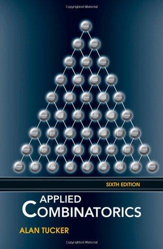 Applied Combinatorics  6th 2011 edition cover