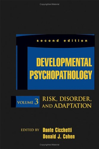 Risk, Disorder, and Adaptation  2nd 2006 edition cover
