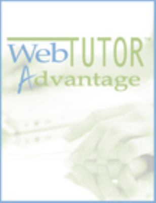WEBTUTOR F/INTRO.TO PSYCHOLOGY 11th 2006 9780495097389 Front Cover