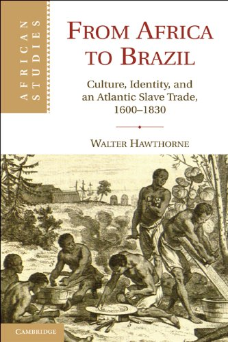 From Africa to Brazil Culture, Identity, and an Atlantic Slave Trade, 1600-1830  2010 edition cover