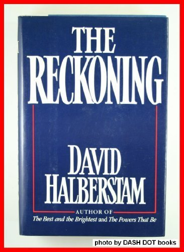 Reckoning   1986 edition cover