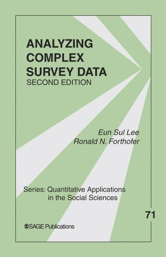 Analyzing Complex Survey Data  2nd 2006 (Revised) edition cover