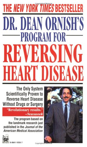 Dr. Dean Ornish's Program for Reversing Heart Disease   1996 edition cover