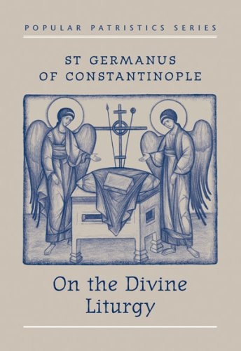 On the Divine Liturgy  1984 edition cover
