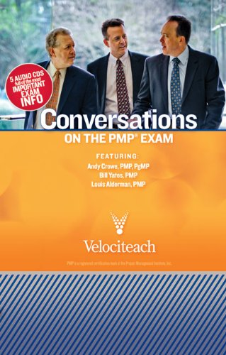 Conversations on the Pmp Exam:  2010 edition cover