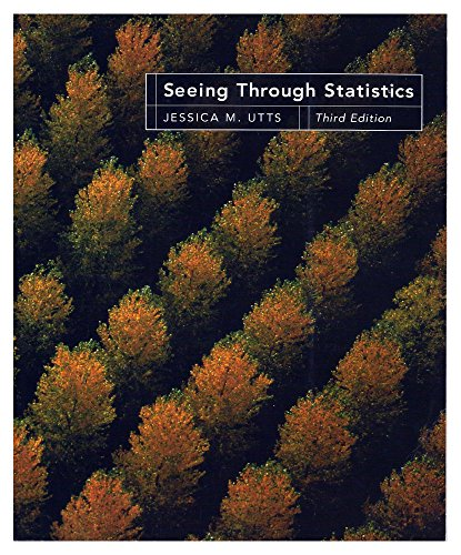 Seeing Through Statistics  0 edition cover