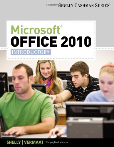 Microsoft� Office 2010, Introductory   2011 edition cover