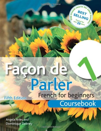 Facon de Parler French for Beginners 5th 2012 (Revised) edition cover
