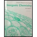 Solutions Manual for Inorganic Chemistry:   2014 edition cover
